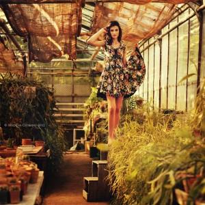 Летнее, платье, цветы,