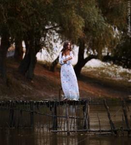 Длинное, летнее, платье
