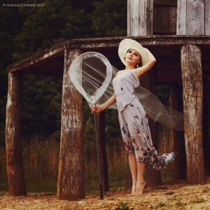 Летнее, платье,