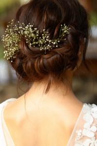 прическа, невеста, ретро,