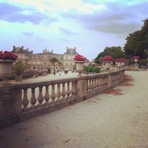 Париж, Сады, Люксембург,