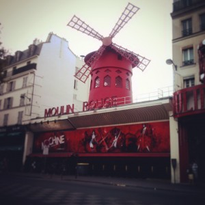 Париж, Мулен Руж,