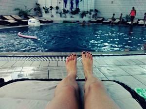 плаванье, польза, вред