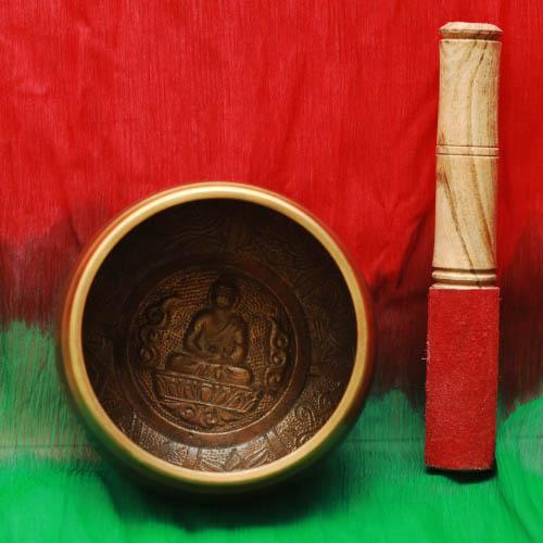Тибетские поющие чаши аджна