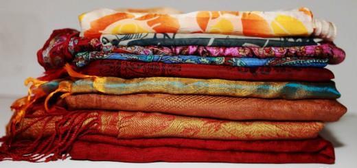 женские, шарфы, разноцветные,
